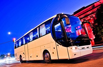 Coach hire for nights out derby